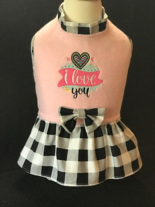 I Love You Dress or Shirt