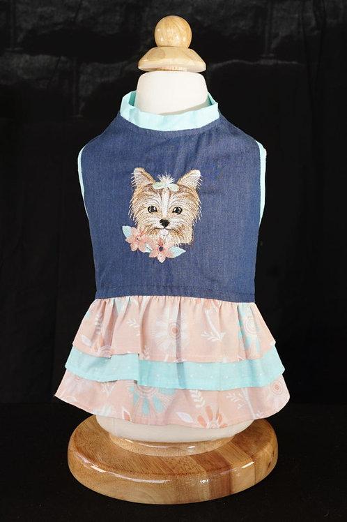 Summertime Yorkie Dress