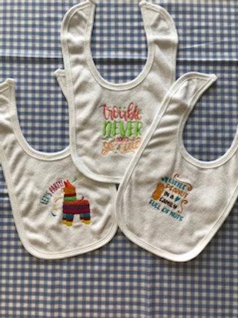 3-pack Infant Boy's or Girl's Bibs