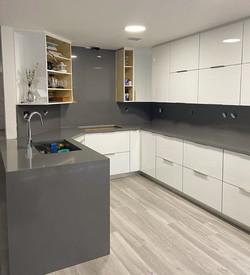 Amazing lead gray kitchen countertops, o