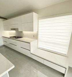 Unique Calacatta kitchen countertops and