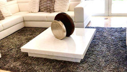 Custom made marble coffee table, only at