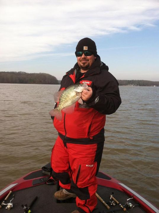 Day 7 another Crappie day. New Year's Day 2016
