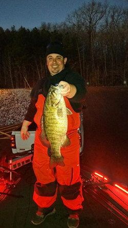 Day 9, my personal best smallie caught this winter