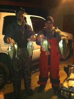 Day 5 another nice crappie trip with my buddy Justin Burcham!