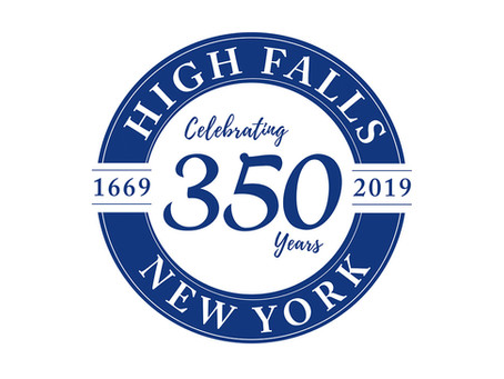 HIGH FALLS 350TH YEAR LOGO