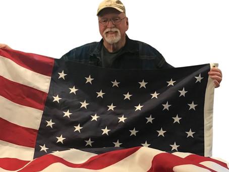 FLAG DONATED TO GRADY PARK