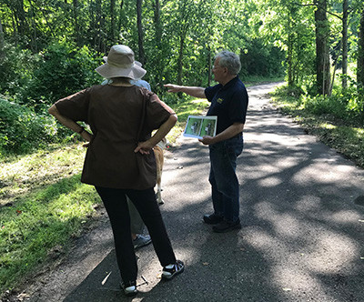 PROGRESS REPORT:  HIGH FALLS CONSERVANCY CREEK WALK