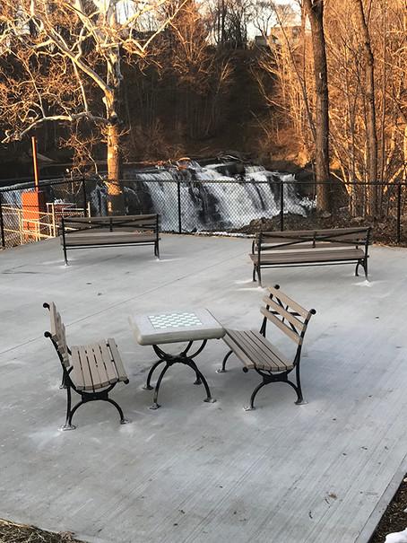Viewing Patio at the Falls