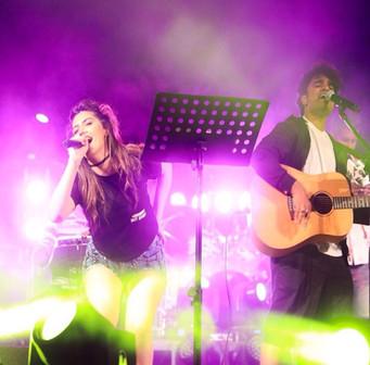 Vivek Nambiar and Tuanna Gurdal Holi Concert 2018, Dubai