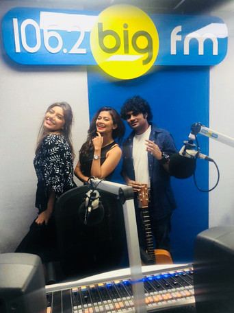 World Music Day Interview 106.2 Big Fm with Vivek Nambiar and Tuanna Gurdal