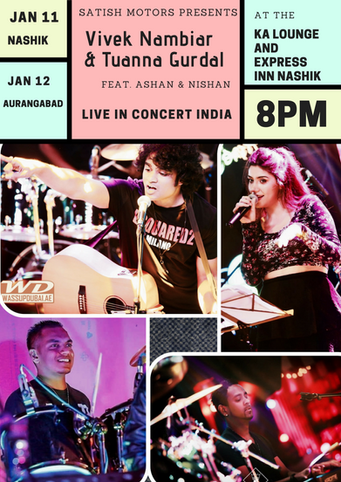 Vivek Nambiar live in Concert India