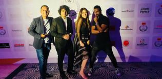 Vivek Nambiar and Tuanna Gurdal live at India International Excellence Awards 2019, Dubai