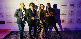 Vivek Nambiar and Tuanna Gurdal live at India International Excellence Awards 2019, Dubai