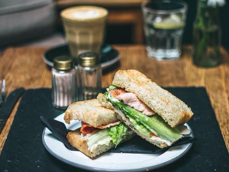 Ham & Rocket Sandwich