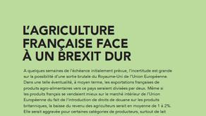 L'agriculture française face à un Brexit dur.