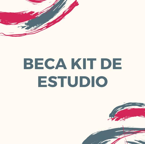 Beca kit de estudio