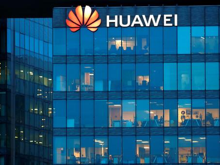 미국 정부 보조금으로 중국 화웨이 구매 금지