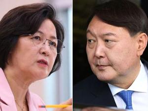 """청와대,윤석렬 사퇴 압박 주장에 """"언급할 가치없다"""""""
