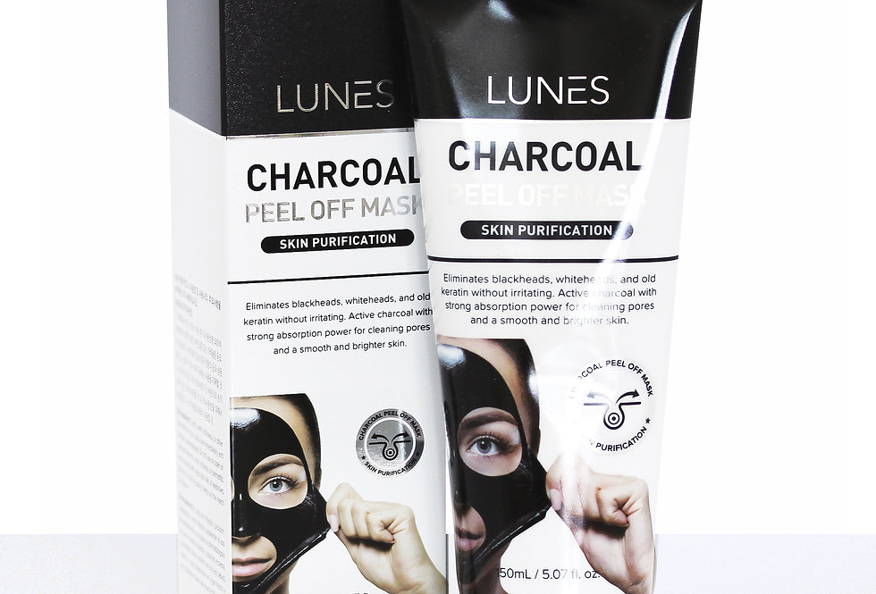 Lunes Peel Off Mask - CHARCOAL/ 180ml