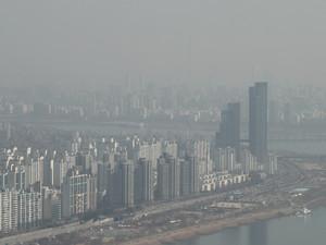 중국이 초미세먼지 수치 허위 조작 발표