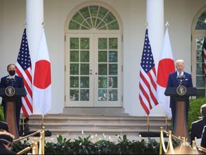 조 바이든 대통령 스가 일본총리와 성공적 회담