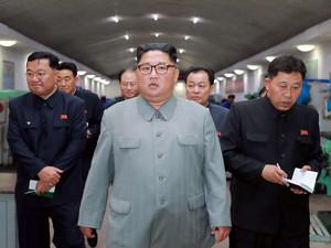 김정은 핵포기 안하면 바이든에 얻어터진다