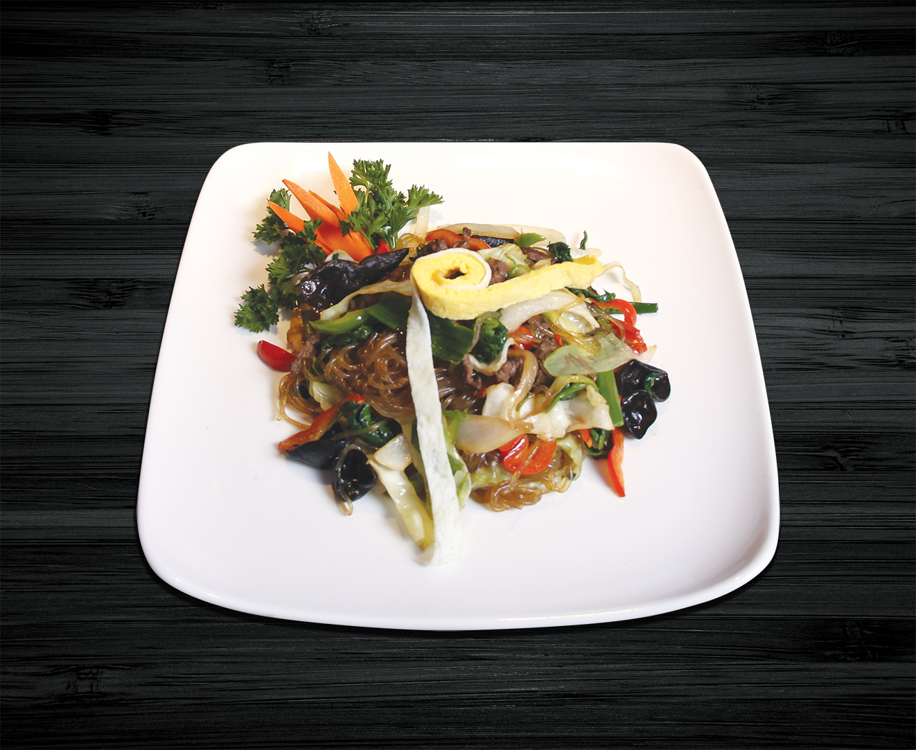 Glass Noodles with Sauteed Vegetable