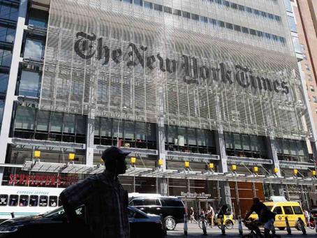 트럼프~바이든 정부 뉴욕타임스 기자 4명 통신기록 수집 시도