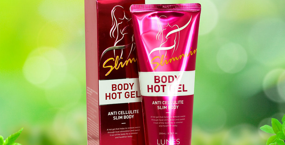 Lunes Slimming Body Hot Gel 200ml