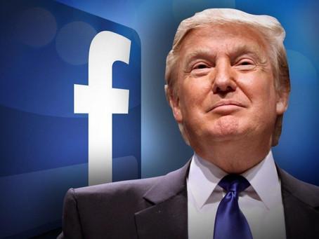 트럼프 페이스북 당분간 계속 정지