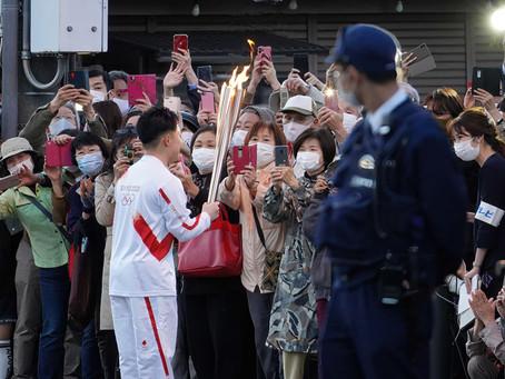 도꾜 올림픽 개막 앞둔 일본 코로나19 확산 불안