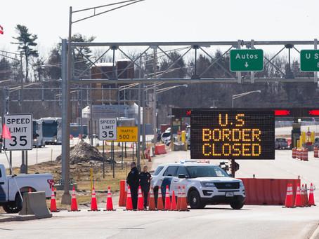 캐나다 멕시코 국경 16개월째 봉쇄
