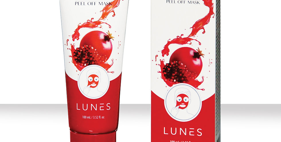 Lunes Peel Off Mask - Pomegranate/ 150ml