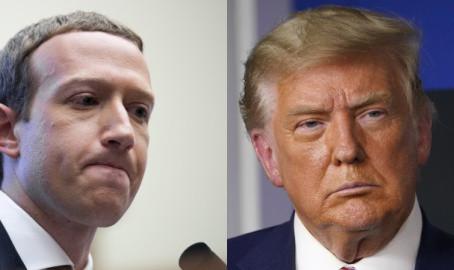 페이스북 횡포냐? 트럼프 계정 정지 유지 결정
