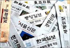 한국 광고예산 종이신문에 집중 배분
