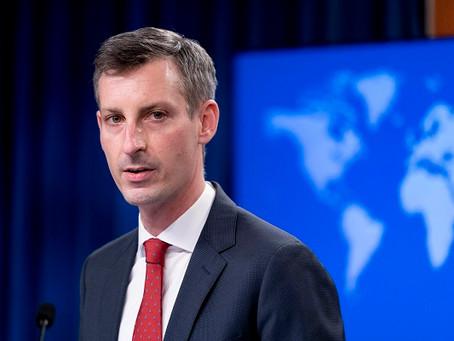네드프라이스 미 국무부 대변인 중국해경법에 경고