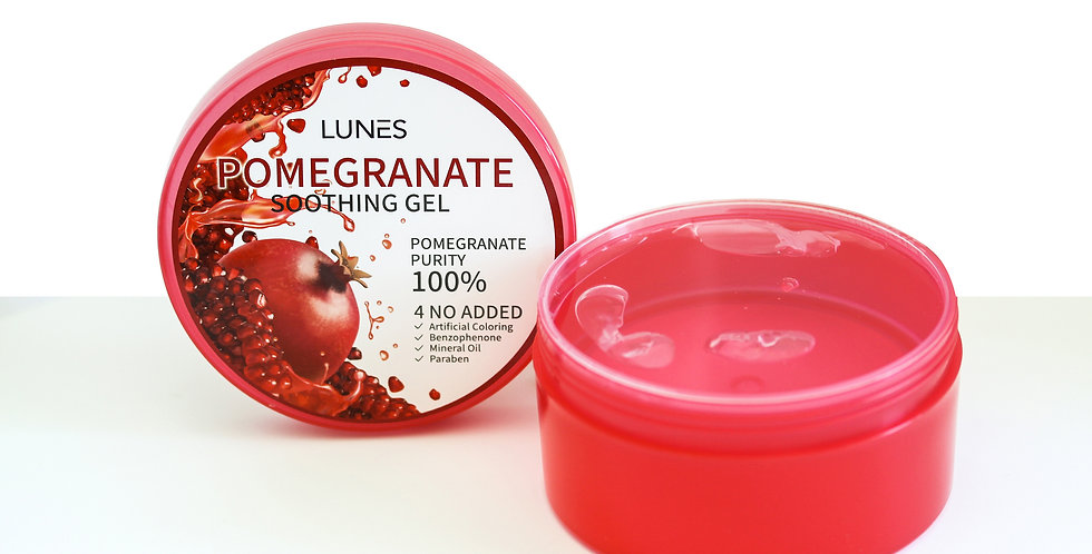 Lunes Soothing Gel- Pomegranate