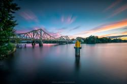 Sunset over Potsdam