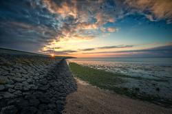 Sunset - Northsea