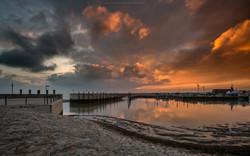 Neuharlingersiel Sunset