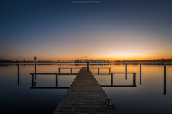 Sunset Tegler See