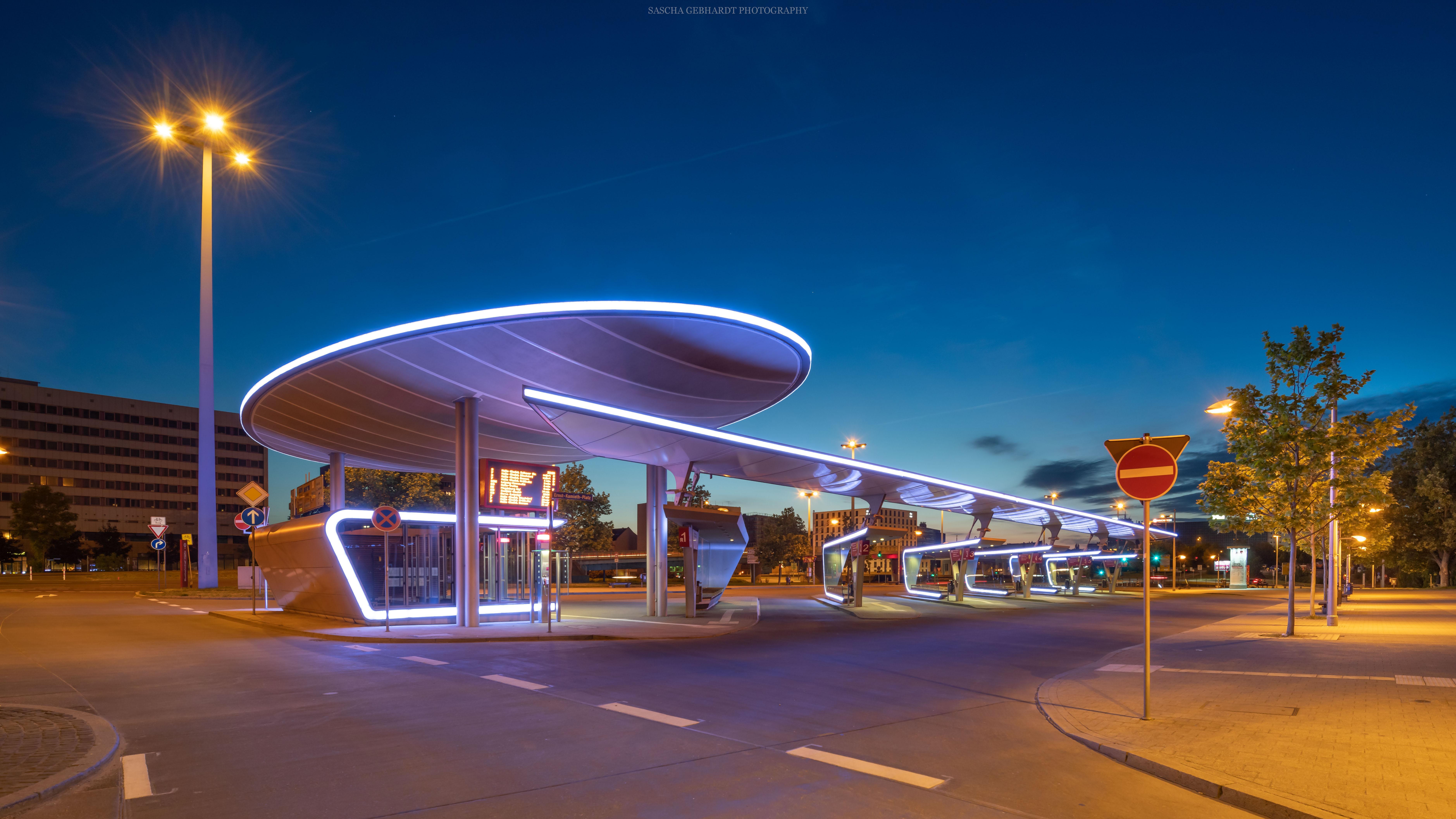 Busbahnhof Halle