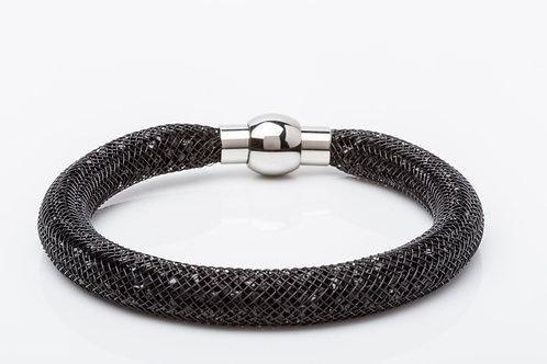 Bracelet cristaux noir