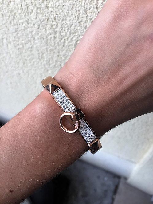 Bracelet strass boucle