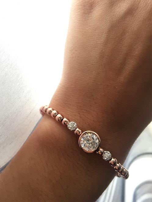 Bracelet diamand emmatite