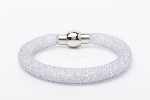 Bracelet cristaux blanc