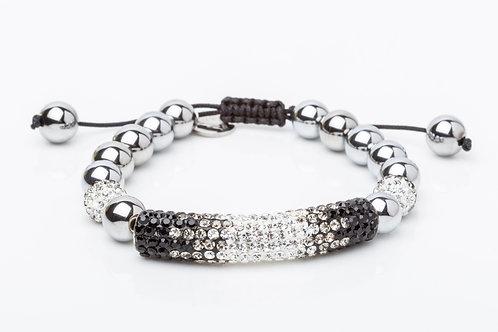 Bracelet tube noir