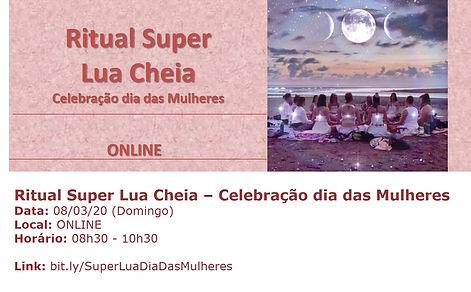 Ritual Super Lua Dia das Mulheres -Mar 2