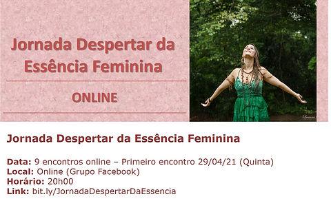 Jornada Despertar da Essência Feminina 2
